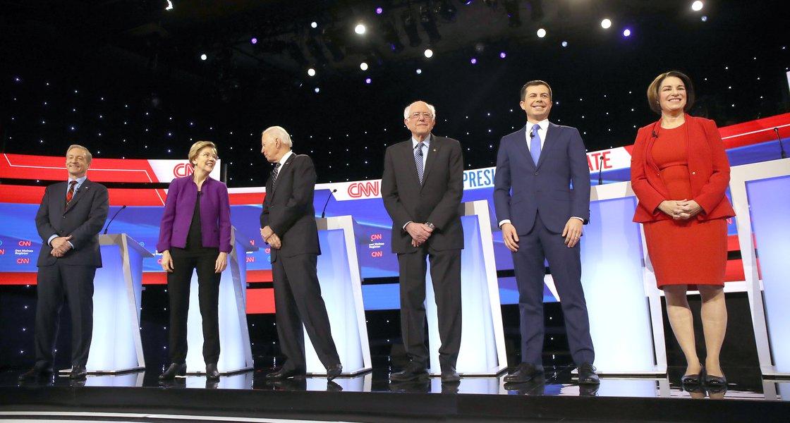 Democratic debate January 2020