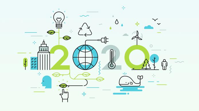 2020 year illustration - option 1