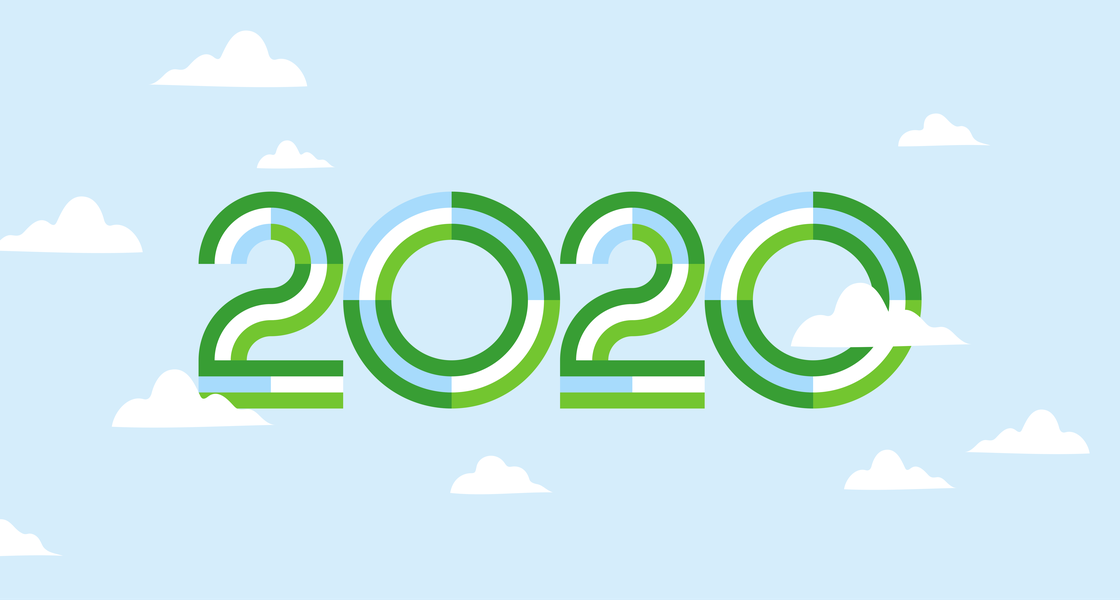 2020 year illustration - option 2