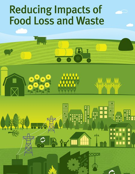 reducing impacts of food loss and waste cover