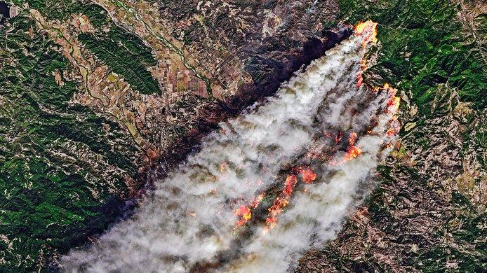 Kincade Fire, California
