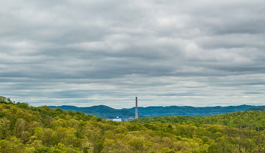 Coal fired plant Appalachian