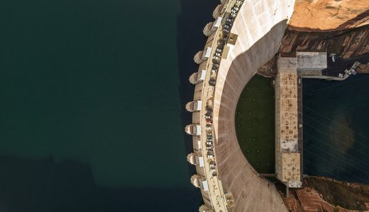 Dam overhead - Gianfranco vivi