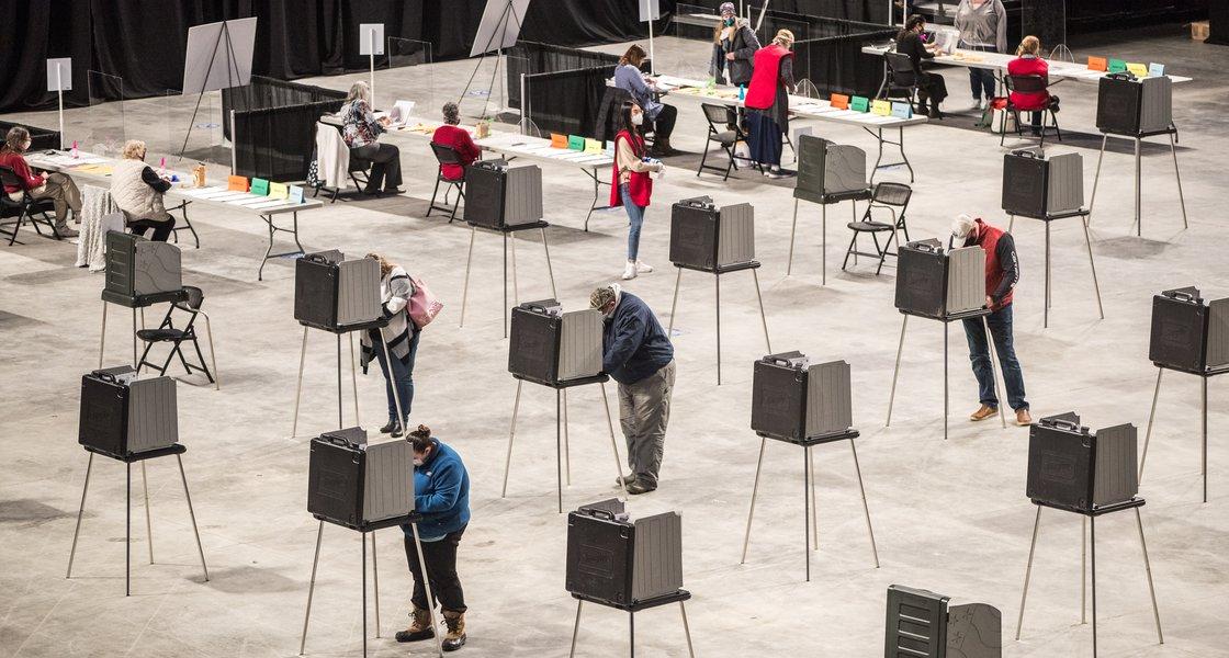 Polling in Bangor, ME