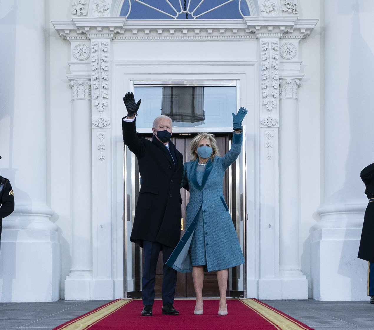 Joe and Jill Biden inauguration