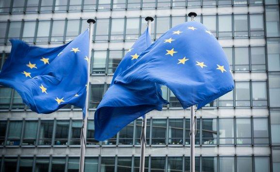 EU emissions flags