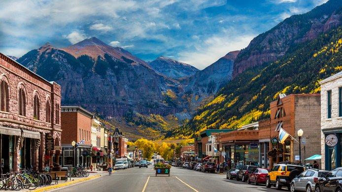 Main street Colorado