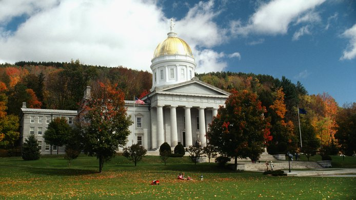 State Capitol in Montpelier, Vermont