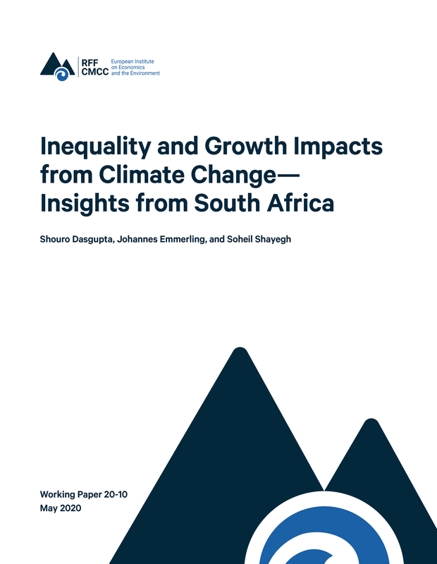 Inequality and growth impacts from climate change - insights from South Africa