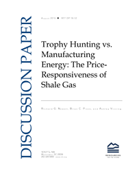 Trophy Hunting vs  Manufacturing Energy: The Price