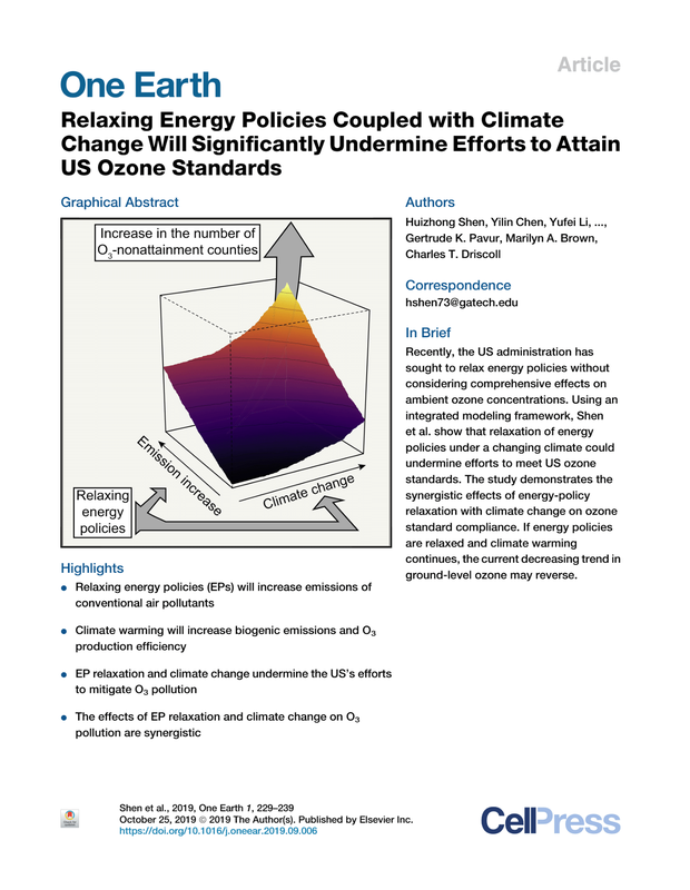 Relaxing Energy Policies Coupled with Climate Change Will Significantly Undermine Efforts to Attain US Ozone Standards _ Elsevier Enhanced Reader-1.png