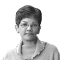 Zorina Khan BW transparent.png