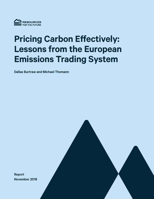 cover pricing carbon effectively