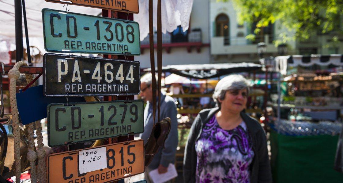 Argentina license plates